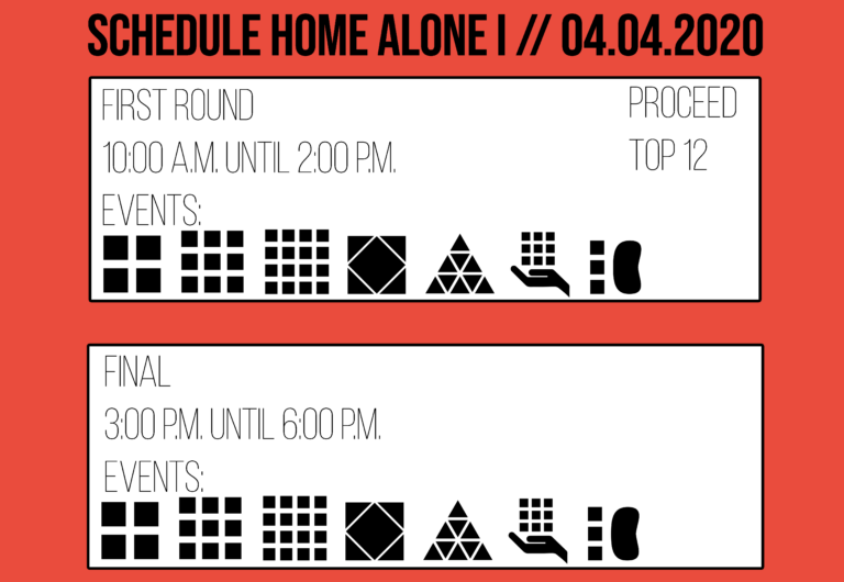 Home Alone I 2020 Schedule