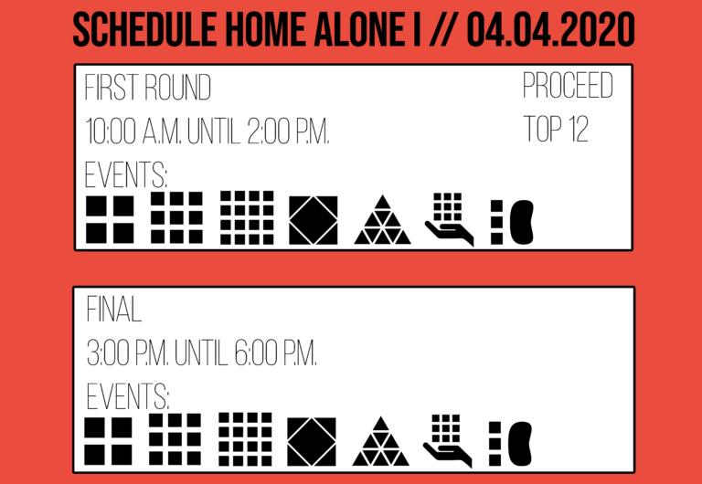 Home Alone I 2020 Schedule